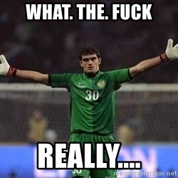 Real Goalkeeper - What. The. Fuck Really....