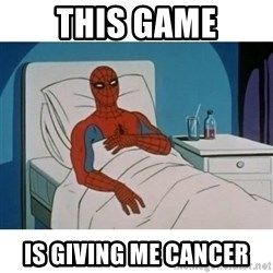 SpiderMan Cancer - this game is giving me cancer
