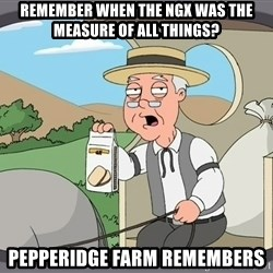 Family Guy Pepperidge Farm - remember when the ngx was the measure of all things? pepperidge farm remembers