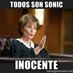 Case Closed Judge Judy - Todos son sonic Inocente