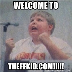 The Fotographing Fat Kid  - welcome to theffkid.com!!!!!