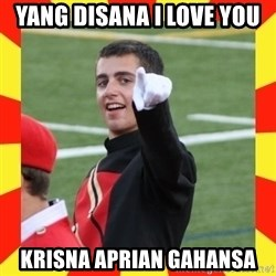 lovett - Yang disana I LOVE YOU KRISNA APRIAN GAHANSA