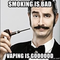 Rich Guy - smoking is bad vaping is goooood