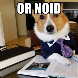Dog Lawyer - Or noid