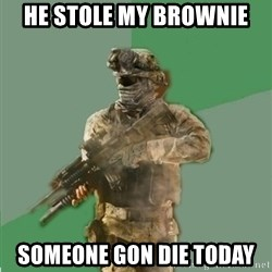 philosoraptor call of duty - he stole my brownie someone gon die today