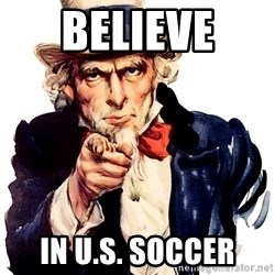 Uncle Sam Point - Believe  In U.s. soccer