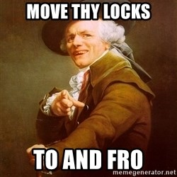 Joseph Ducreux - Move thy locks to and fro