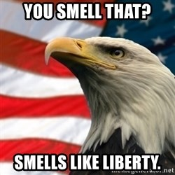 MURICA EAGLE - you smell that? Smells like liberty.