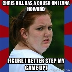 Fat Girlfriend in Denail - Chris Hill has a crush on Jenna Howard Figure I better step my game up!