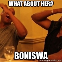 Kanye and Jay - what about her? boniswa