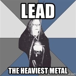 Black Metal Sword Kid - lead the heaviest metal