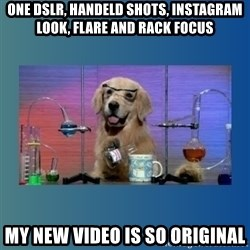 Chemistry Dog - one dslr, handeld shots, instagram look, flare and rack focus my new video is so original