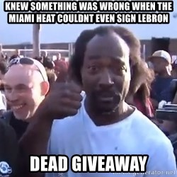 charles ramsey 3 - Knew something was wrong when the miami heat couldnt even sign lebron dead giveaway