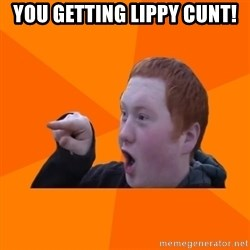 CopperCab Points - You getting lippy cunt!