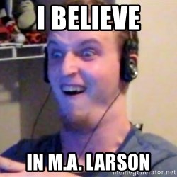 Brony Mike - i believe in M.A. LARSON