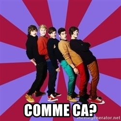 typical 1D -  Comme ca?