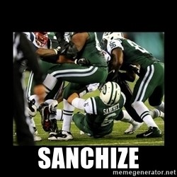 Mark Sanchez Butt Fumble -  sanchize