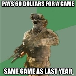 philosoraptor call of duty - PAYS 60 DOLLARS FOR A GAME SAME GAME AS LAST YEAR