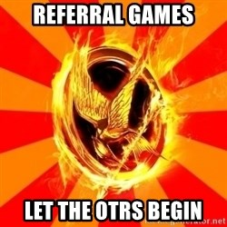 Typical fan of the hunger games - referral games let the otrs begin