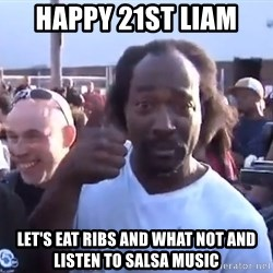 charles ramsey 3 - Happy 21st Liam Let's eat ribs and what not and listen to salsa music