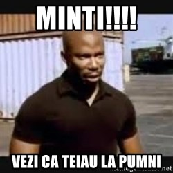 James Doakes surprise - MINTI!!!! VEZI CA TEIAU LA PUMNI