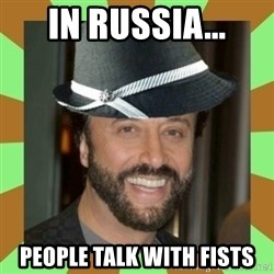 RussianFedora - in russia... people talk with fists