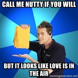 Shamwow Guy - call me nutty if you will but it looks like love is in the air