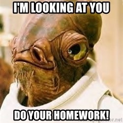 Its A Trap - I'm looking at you do your homework!