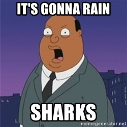 ollie williams - It's gonna rain SHARKS