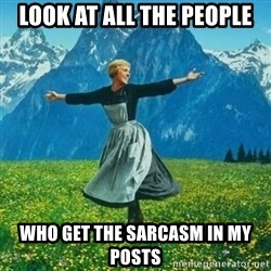 Look at All the Fucks I Give - look at all the people who get the sarcasm in my posts