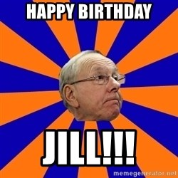 Jim Boeheim - Happy Birthday Jill!!!