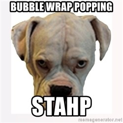 stahp guise - bubble wrap popping stahp