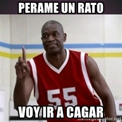 Not in my house Mutombo - perame un rato voy ir a cagar