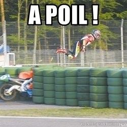 motorcycle fly'S - A POIL !
