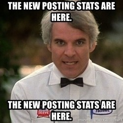 Steve Martin The Jerk - The new Posting Stats are here. The new Posting Stats are here.