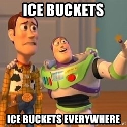 Toy Story Meme - Ice Buckets Ice Buckets Everywhere