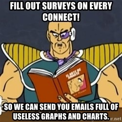 El Arte de Amarte por Nappa - Fill out surveys on every connect! So we can send you emails full of useless graphs and charts.