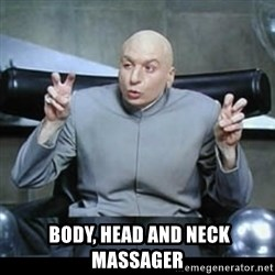 dr. evil quotation marks -   Body, Head and Neck massager