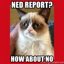 No cat - NED Report? How about no