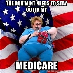 Conservative - the guv'mint needs to stay outta my medicare