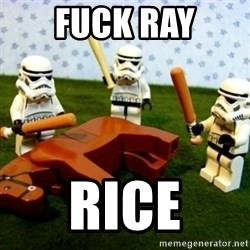 Beating a Dead Horse stormtrooper - Fuck ray Rice