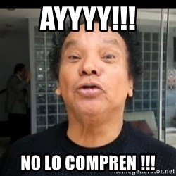 melcochita - ayyyy!!! No lo compren !!!