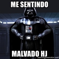 Bitch Darth Vader - me sentindo malvado hj