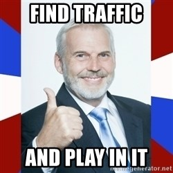 Idiot Anti-Communist Guy - Find traffic And play in it