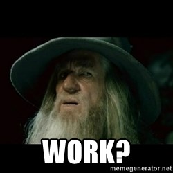 no memory gandalf -  Work?