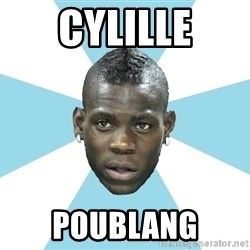 Balotelli - CYLILLE POUBLANG