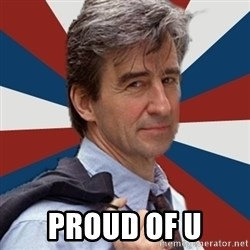 Jack McCoy -  proud of u