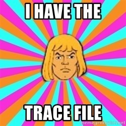 He-Man - I HAVE THE TRACE FILE