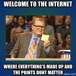 drew carey - welcome to the internet where everything's made up and the points dont matter