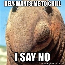 Lolwut - Kely wants me to chill I SAY NO